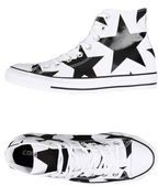 CONVERSE ALL STAR CT AS HI CANVAS PRINT - CALZATURE - Sneakers & Tennis shoes alte - on YOOX.com