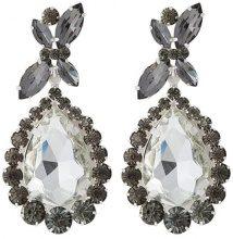 sweet deluxe PRINCESS Orecchini silvercoloured/diam/cryst