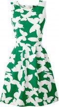 Abito effetto neoprene (Verde) - BODYFLIRT boutique
