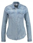 Camicia - greyblue denim
