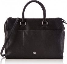 GERRY WEBER Piacenza Business Shopper, Borsa shopper donna, Nero (Nero (Black 900)), 38x28x14 cm (B x H x T)