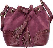 Borsa a sacchetto con applicazioni (Rosso) - bpc bonprix collection