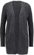 Vila VIPLACE Cardigan dark grey melange