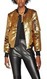 Bombers Original Glitter-Women, Giacca Donna, Gold (Gold A-1), L