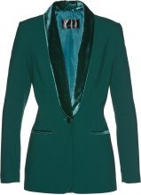 Blazer con revers in velluto (Verde) - bpc selection