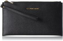 Michael Kors Jet Set Travel - Borse a secchiello Donna, Black, 1.25x14x24.9 cm (W x H L)