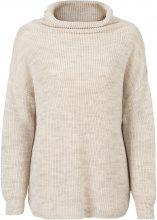 Pullover oversize a collo alto (Beige) - RAINBOW