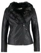 Wallis Petite GLAM BIKER Giacca in similpelle black