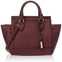 Gaudì East West Small-Linea Altea-cm.26 x 25 x 12,50, Borsa a Mano Donna, Viola (Purple), 26 x 25 x 12.5 cm (W x H x L)