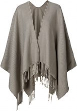 Poncho in tinta unita (Beige) - bpc bonprix collection