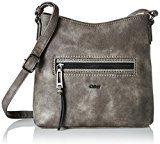 GaborViola - Borsa a tracolla Donna , grigio (grigio (grigio)), 9x25x28.5 cm (B x H x T)