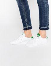 adidas Originals - Miss Stan - Scarpe da ginnastica bianche e verdi