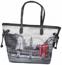 Borsa Shopping Y Not?  Borsa donna  319 Londra RBX  shopping grande