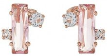 Ted Baker BRIA BAGUETTE CLUSTER STUD Orecchini rose goldcoloured/light rose