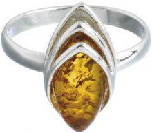 Nature d'Ambre 3111160 - Anello da donna in argento 925/1000 con ambra, Argento 925/1000, 16, cod. 311112756