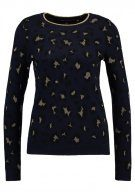 Dorothy Perkins LEOPARD JUMPER Maglione navy blue