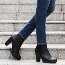 Chelsea boots con tacco conico