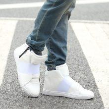 Sneakers alte con fascia elastica