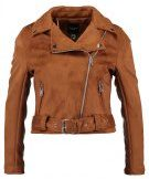 New Look Petite BIKER  Giacca in similpelle tan