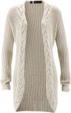 Cardigan con lurex (Beige) - bpc selection