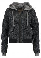 Hollister Co. TWOFER Giubbotto Bomber grey