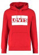 Levi's® Graphic  Felpa con cappuccio olympic chinese red