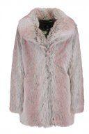 Dorothy Perkins SHAWL FUR COAT Cappotto invernale grey