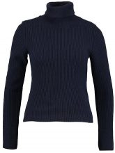 Benetton TURTLE NECK Maglione navy blue
