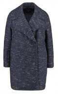 Topshop BOUCLE  Cappotto classico navyblue
