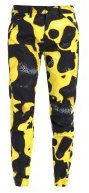 GStar PHARRELL WILLIAMS ELWOOD X25 3D BOYFRIEND Pantaloni yellow/black ao
