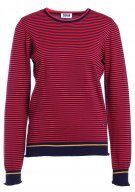 Sonia by Sonia Rykiel PLAIN & STRIPED Maglione red