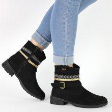 Stivali con strappi