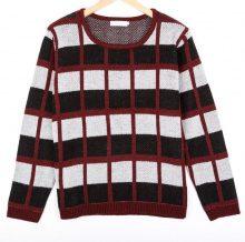 Pullover in design a quadri