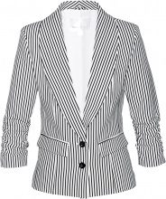 Blazer con maniche arricciate (Nero) - bpc selection
