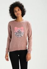 New Look BAUBLE CHRISTMAS  Maglione mid pink