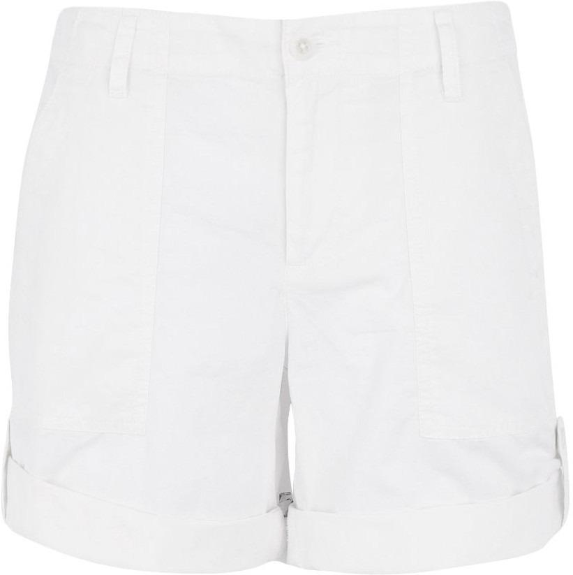 Pantaloni corti e shorts con zip bianchi | Tendenze Donna