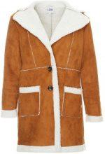 Cappotto montone in finta pelliccia