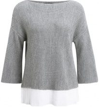 More & More Maglione warm grey melange