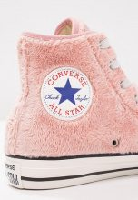 Converse CHUCK TAYLOR ALL STAR HI FAUX FUR Sneakers alte rose tan/black/white