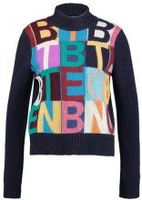 Benetton Maglione navy blue