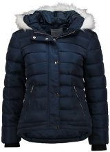 Dorothy Perkins Petite HOOD SHORT  Giacca invernale navy blue