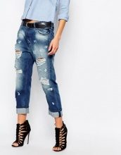 Replay - Gracelly - Boyfriend jeans effetto consumato