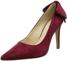 HÖGLAnna - Scarpe col tacco punta chiusa donna , rosso (Red (Raspberry)), 38.5