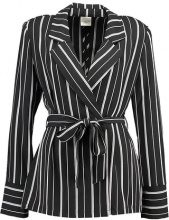 Selected Femme SFDUSINA  Blazer black/white stripes