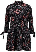 Glamorous Petite FLORAL RIBBON Vestito estivo black/apricot