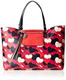 Tommy Hilfiger Love Reversible Tote Heart - Borse Donna, Rot (Heart Print), 13x31x46 cm (L x H D)