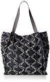 Sansibar Shopper Bag - Borse a secchiello Donna, Grau (Dim Grey), 18x37x38 cm (B x H T)