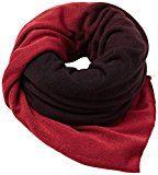 edc by Esprit Accessoires 097ca1q002, Sciarpa Donna, Multicolore (Garnet Red 620), Taglia Unica