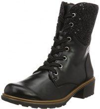 Rohde 9230, Stivali a metà gamba con imbottitura pesante Donna, Nero (Nero 90), 39 EU
