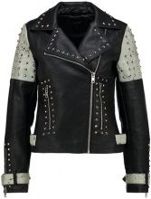 Topshop MADDOX BIKER Giacca in similpelle black